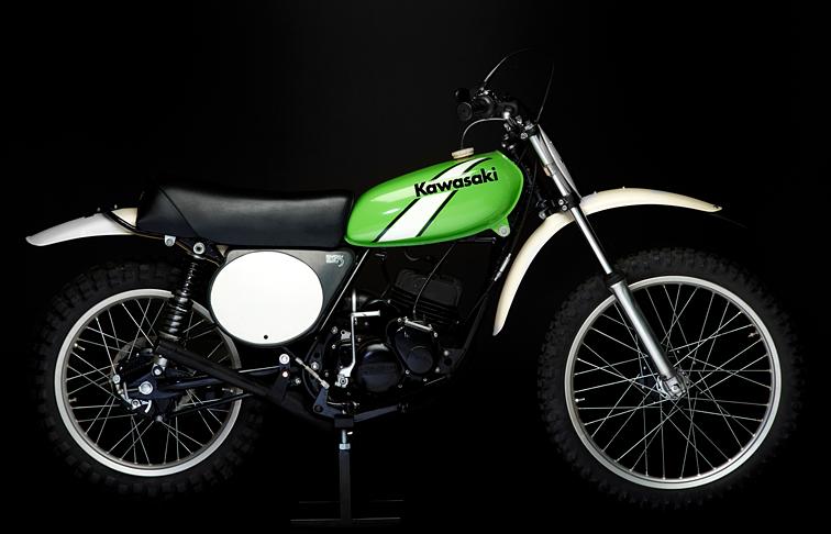 Jones Mx Collection 1974 Kawasaki Kx125