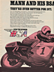 BSA Motorcycle Ad Cycle World April 1972